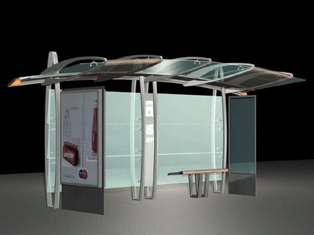 The Future Of The Bus Stop Landprops
